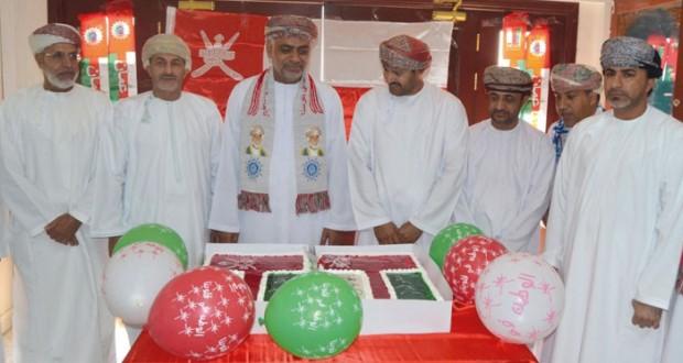 تعليمية الداخلية تحتفل بالعيد الوطني المجيد