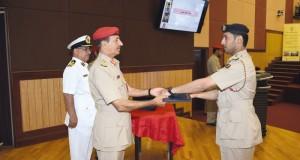 تخريج الدفعة الأولى من البرنامج التدريبي لريادة الأعمال لمنتسبي وزارة الدفاع وقوات السلطان المسلحة