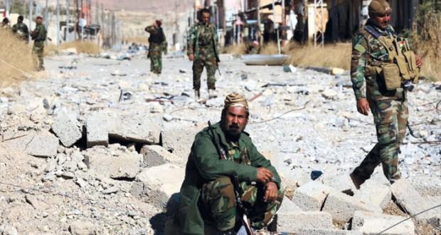 العراق : (البشمرجة) في سنجار غداة تحريرها من (داعش) والجيش يبدأ تطهير الرمادي