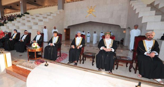 فهد بن محمود يرعى الاحتفال بالعيد الوطني الـ (45) المجيد بمحافظة مسقط