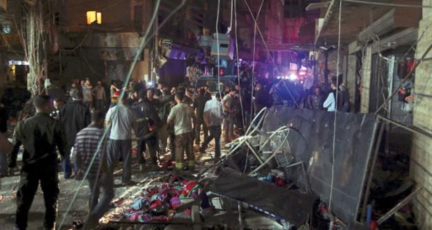 لبنان: مقتل وإصابة العشرات في (انتحاريين) بـ(الضاحية)