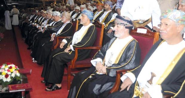 شهاب بن طارق يرعى مهرجان العيد الوطني الـ (45) المجيد بمحافظة ظفار