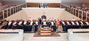 """أسعد بن طارق يرعى احتفال محافظة الداخلية بالعيد الوطني  الـ """"45″ المجيد"""