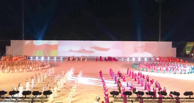 تنوع حياة الإنسان وموروثاته والنهضة العمانية في احتفال مسندم بالعيد الوطني الـ45 المجيد