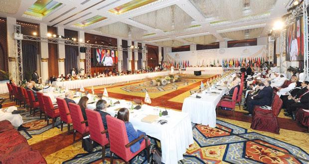 """وزراء الثقافة يناقشون الثقافة الوسطية التنموية للنهوض بالمجتمعات الإسلامية في المؤتمر الإسلامي التاسع بـ """" مسقط """""""