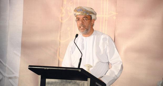 الإعلان عن أسماء الفائزين في الدورة الرابعة لجائزة السلطان قابوس للثقافة والفنون والآداب
