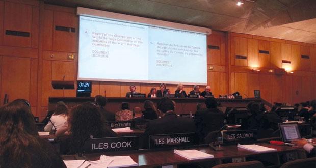 """السلطنة تشارك في اجتماعات الدورة العشرين للجمعية العامة للدول الأطراف في الاتفاقية الخاصة بحماية التراث الثقافي والطبيعي بـ""""اليونسكو"""""""