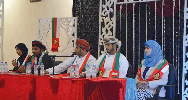 أمسية شعرية وطنية بالعوابي ابتهاجا بالعيد الوطني المجيد