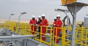 إنجاز أكثر من 45٪ من أعمال المشروع والبنية التحتية بمشروع خزان