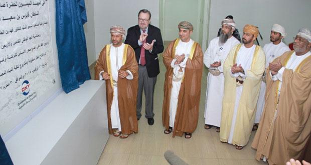افتتاح مطار مخيزنة ومحطة تحلية المياه المصاحبة للنفط.. والتكلفة 35 مليون ريال عماني