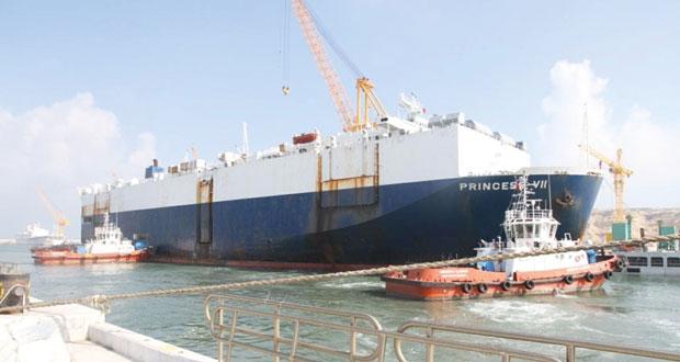 (عُمان للحوض الجاف) تسلم السفينة اليونانية المحولة الثانية بنجاح