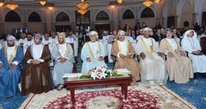 مستشار جلالة السلطان يفتتح أعمال المنتدى الإقليمي للضمان الاجتماعي بقصر البستان