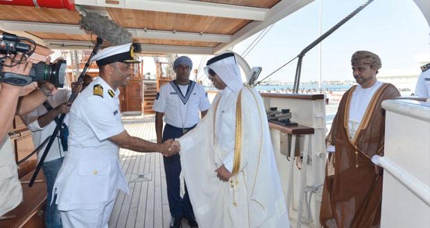 سفينة شباب عمان الثانية (شراع التعاون 2015) تصل الدوحة