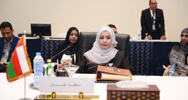 المجلس الأعلى لمنظمة المرأة العربية يعتمد خطته حتى 2019م