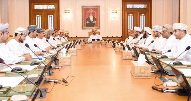 مكتب مجلس الشورى ينظر في عدد من الردود الوزارية والمخاطبات الواردة من الاتحادات والمنظمات الإقليمية والدولية