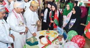 المدعي العام يرعى احتفال كلية عمان الطبية بالعيد الوطني الخامس والأربعين المجيد