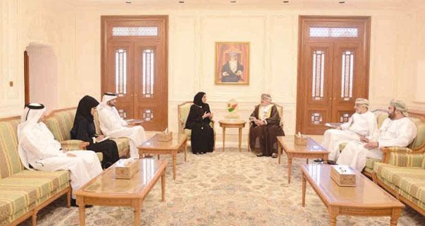 رئيس مجلس الدولة يستقبل وفدا من لجنة حقوق الإنسان القطرية
