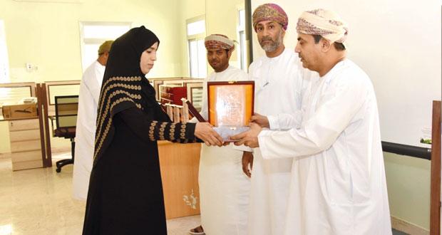 تكريم المدارس الفائزة في مشروع تحدي القراءة بشمال الشرقية