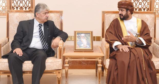 وزير الخدمة المدنية يستقبل رئيس مجلس إدارة هيئة التقاعد الفلسطينية