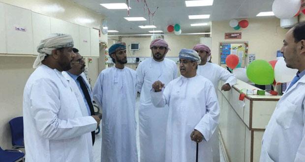 وزير الصحة يزور عددا من المؤسسات الصحية بمحافظة مسندم
