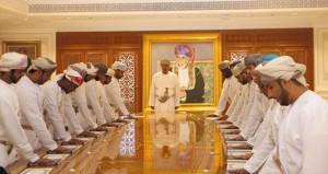 63 من أعضاء جهاز الرقابة المالية والإدارية للدولة يؤدون قسم اليمين القانونية