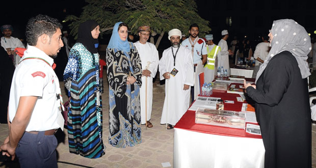 معرض التخصصات 2015 م بجامعة السلطان قابوس