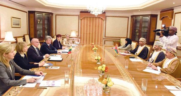الجولة السادسة للمشاورات السياسية بين السلطنة وليثوانيا