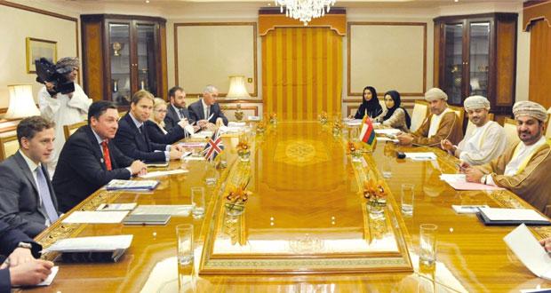 وزارة الخارجية تستضيف الاجتماع الثامن لمجموعة العمل العمانية ـ البريطانية المشتركة