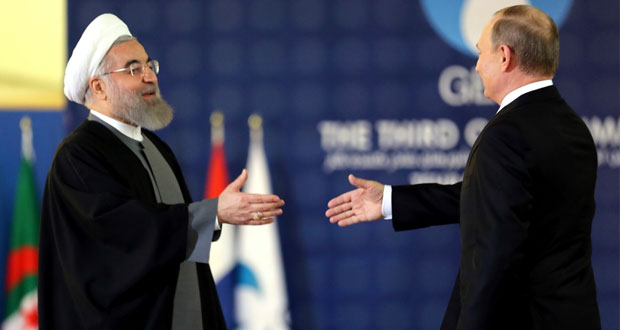 روسيا وإيران تؤكدان توافقهما بشأن قضايا الطاقة ومكافحة الإرهاب