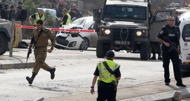 استشهاد فلسطيني عقب دهس 3 جنود للاحتلال وإصابة فلسطينية بزعم محاولة طعن حارس أمن