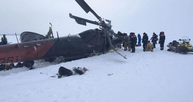 مصرع 15 في تحطم مروحية روسية في سيبيريا
