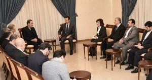 سوريا: الأسد يؤكد تصميم بلاده على المضي قدما في مكافحة الإرهاب