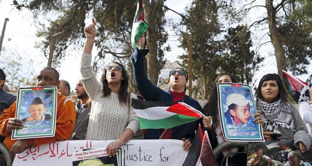 الاحتلال يرجئ إدانة قاتل الطفل أبو خضير بحجة النظر في تقريره النفسي