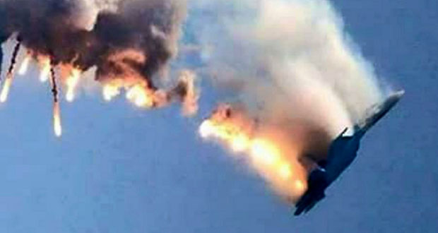 تركيا تسقط (سوخوي24 ) روسية قرب الحدود مع سوريا