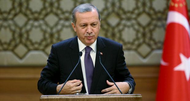 اردوغان يدعو الى اعتماد دستور جديد ويشدد على مواجهة (الكردستاني)