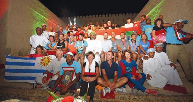 إسدال الستار بنجاح على فعاليات ماراثون عمان الصحراوي في نسخته الثالثة