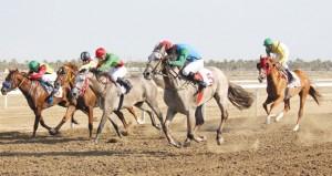 ختام ناجح لفعاليات السباق الرابع للخيول بمزرعة الرحبة ببركاء
