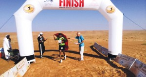 الجولة الثالثة لماراثون عمان الصحراوي العالمي