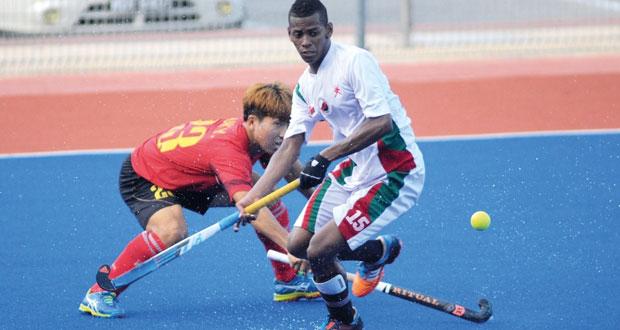 منتخبنا الوطني للهوكي يواجه الصين على التصنيف السابع والثامن