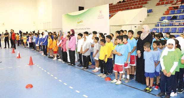 ختام مهرجان براعم الكرة الطائرة للمدارس الدولية والعالمية والخاصة