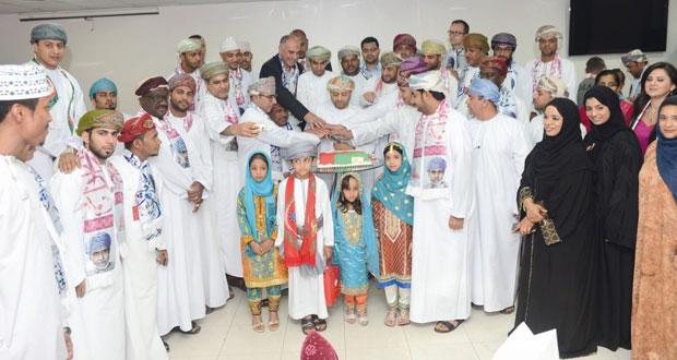 اتحاد كرة القدم يحتفل بالعيد الوطني الـ45 المجيد