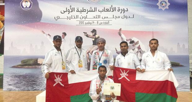 فريق الشرطة يحصل على البرونزية في دورة الألعاب الرياضية الخليجية الأولى