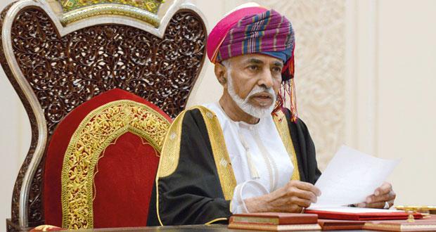 جلالة السلطان يفتتح الفترة السادسة لمجلس عُمان
