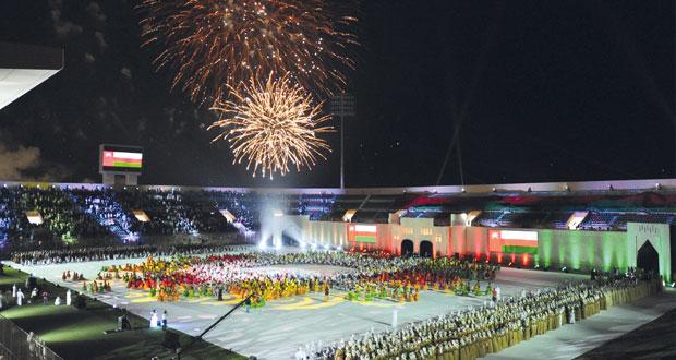 فاتك بن فهر يرعى احتفالات محافظة البريمي بالعيد الوطني الـ 45 المجيد