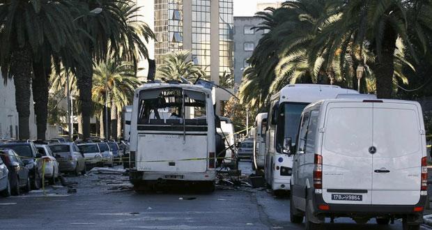 تونس: داعش يتبنى تفجير الحافلة