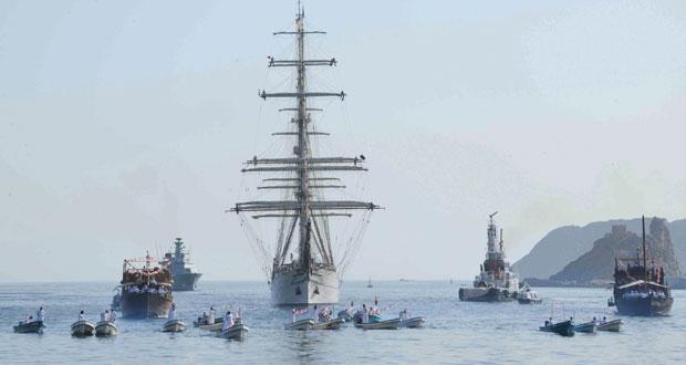 تسليم جائزة السلطان قابوس للإبحار الشراعي