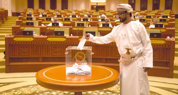 خالد المعولي يترأس جلسة مجلس الشورى الاعتيادية الأولى من الفترة الثامنة