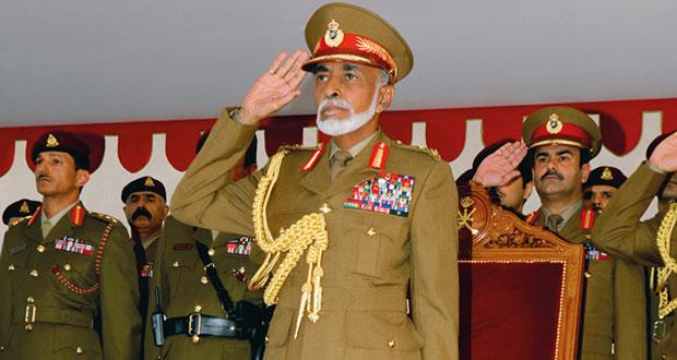 جلالة السلطان يشمل برعايته السامية العرض العسكري بمناسبة العيد الوطني الـ45 المجيد