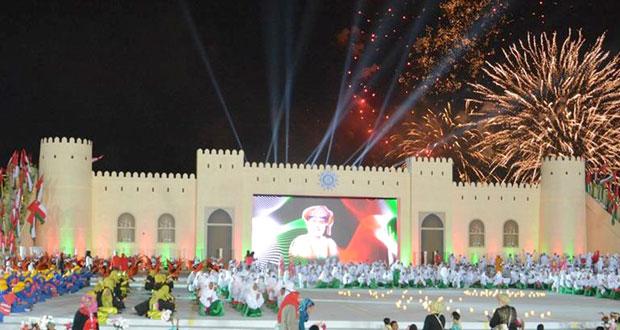 محمد الحارثي يرعى الاحتفال بالعيد الوطني الـ (45) المجيد بمحافظة شمال الشرقية