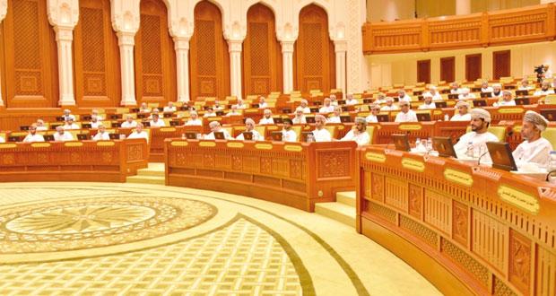 مجلس الشورى يناقش الوزير المسئول عن الشؤون المالية ووزير التجارة والصناعة والأمين العام للمجلس الأعلى للتخطيط الخطة التاسعة وموازنة 2015